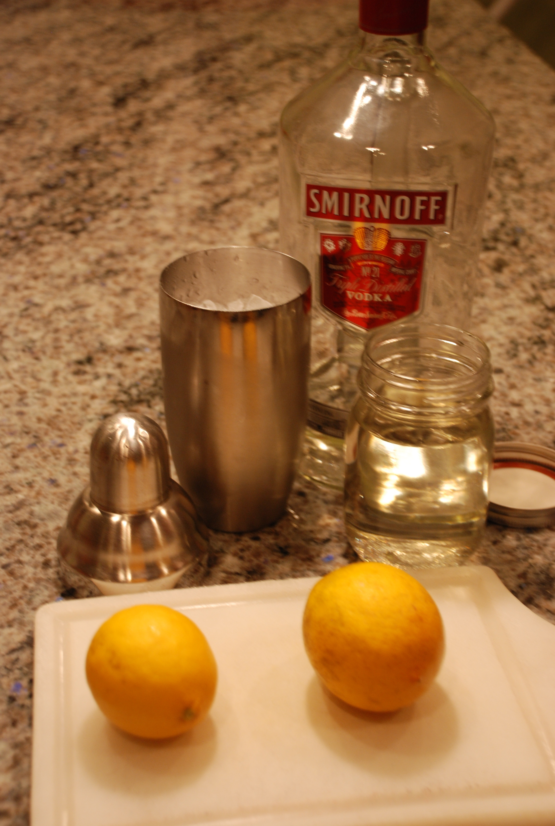 ... week! You've worked hard! You deserve a Meyer Lemon Drop Martini