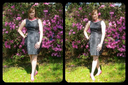 Garnished with a beautiful matching azalea bloom.